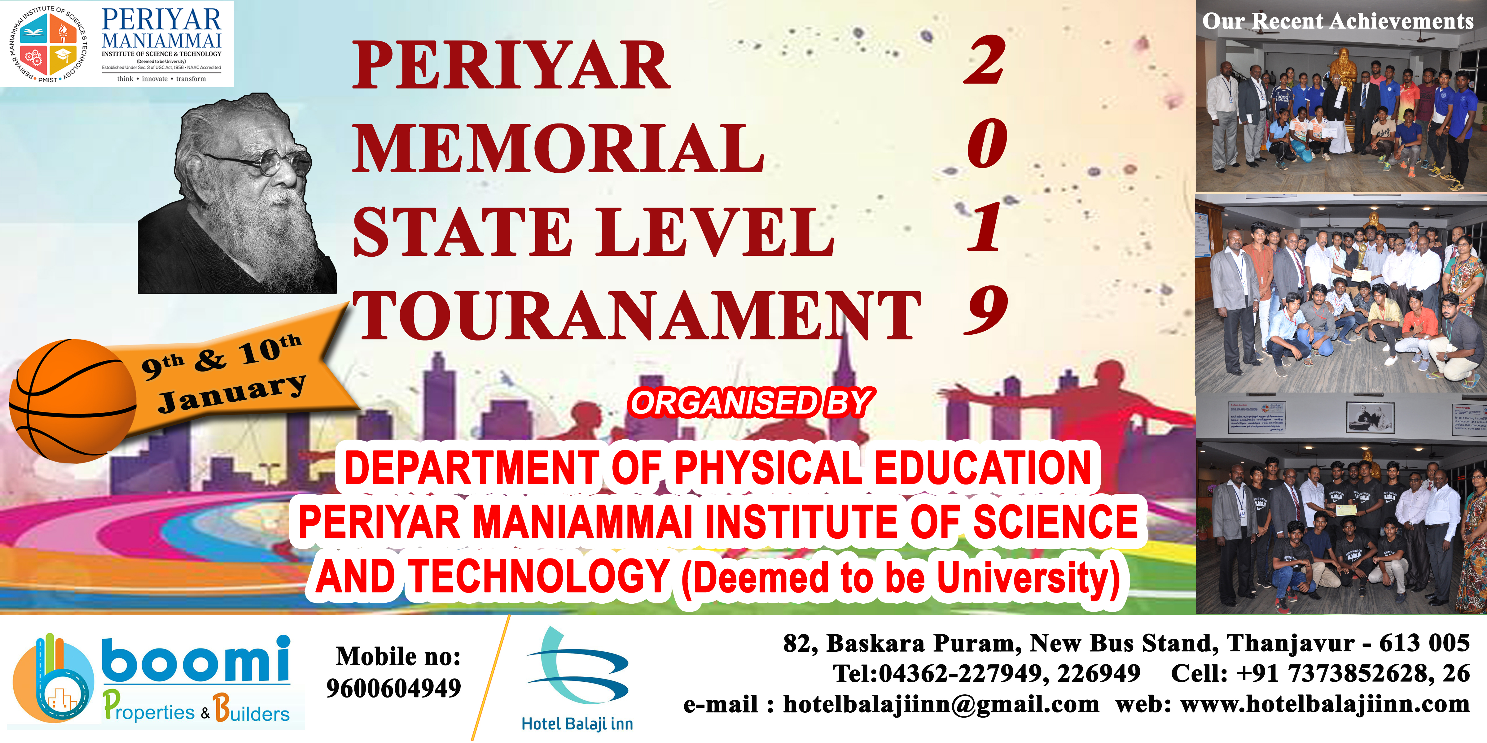 Periyar Maniammai Institute Of Science Technology Think